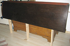 Neatform Bendy MDF  Domestic Case Study  Bed Headboard