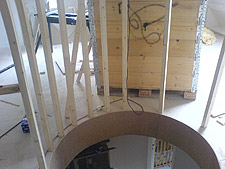 Neatform Bendy MDF  Domestic Case Study  Spiral Staircase
