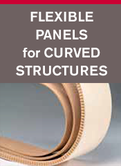 Neat Concepts - Flexible Panels for Curved Structures